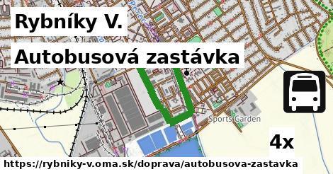 autobusová zastávka v Rybníky V.