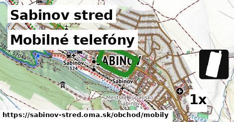 mobilné telefóny v Sabinov stred