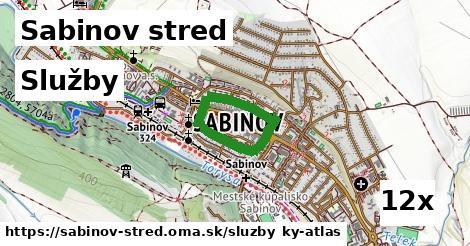 služby v Sabinov stred