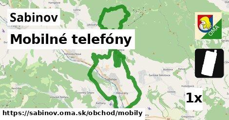 mobilné telefóny v Sabinov
