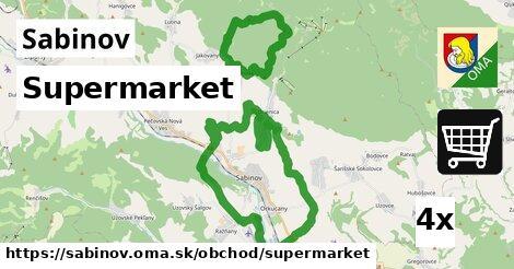 supermarket v Sabinov