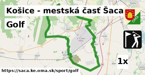 golf v Košice - mestská časť Šaca