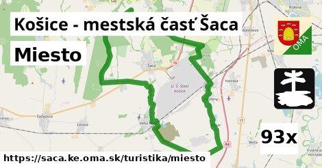 miesto v Košice - mestská časť Šaca
