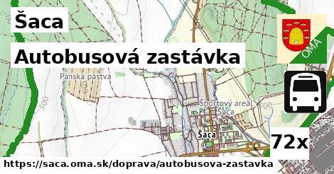 ilustračný obrázok k Autobusová zastávka, Šaca
