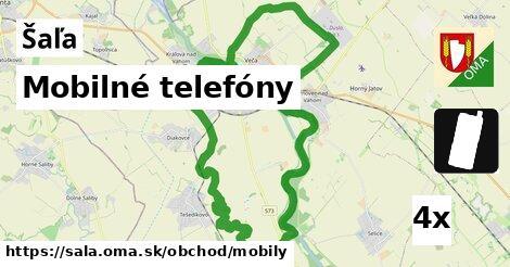 Mobilné telefóny, Šaľa