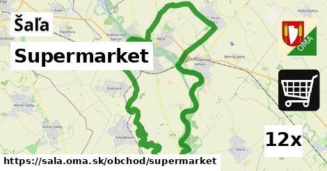 ilustračný obrázok k Supermarket, Šaľa