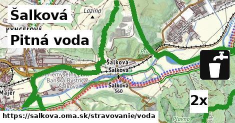pitná voda v Šalková