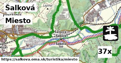 miesto v Šalková
