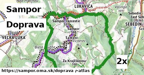 doprava v Sampor