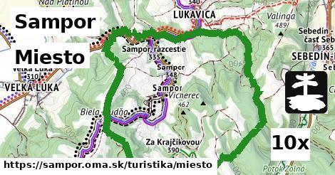 Miesto, Sampor