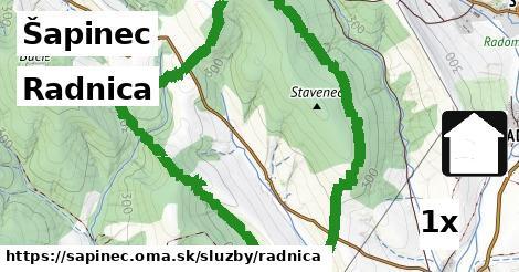 ilustračný obrázok k Radnica, Šapinec