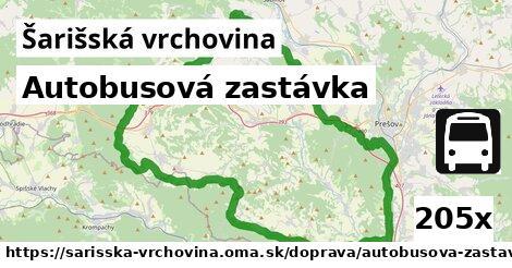 ilustračný obrázok k Autobusová zastávka, Šarišská vrchovina