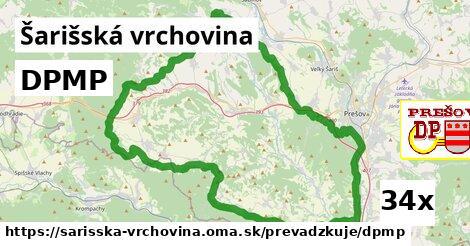 ilustračný obrázok k DPMP, Šarišská vrchovina