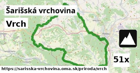 ilustračný obrázok k Vrch, Šarišská vrchovina
