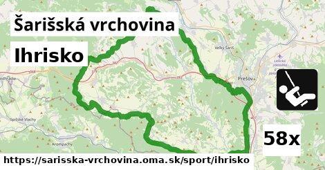 ilustračný obrázok k Ihrisko, Šarišská vrchovina
