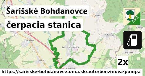 ilustračný obrázok k čerpacia stanica, Šarišské Bohdanovce