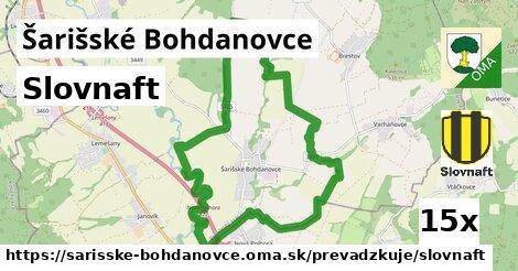 ilustračný obrázok k Slovnaft, Šarišské Bohdanovce
