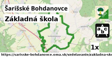 ilustračný obrázok k Základná škola, Šarišské Bohdanovce
