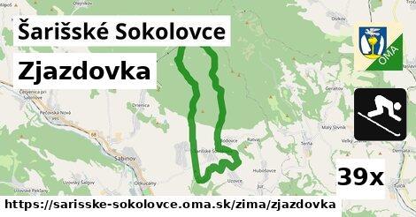 zjazdovka v Šarišské Sokolovce