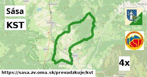 ilustračný obrázok k KST, Sása, okres ZV