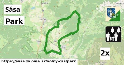 ilustračný obrázok k Park, Sása, okres ZV
