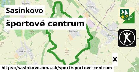 športové centrum v Sasinkovo