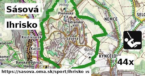 ihrisko v Sásová
