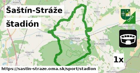 štadión v Šaštín-Stráže