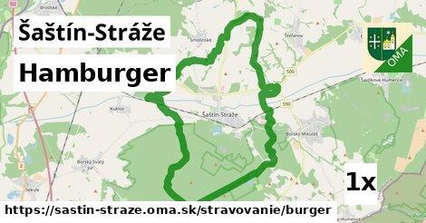 Hamburger, Šaštín-Stráže