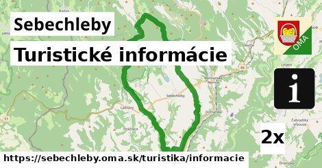 turistické informácie v Sebechleby