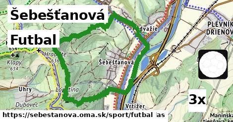 futbal v Šebešťanová