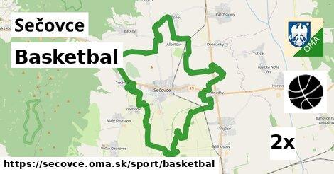 basketbal v Sečovce