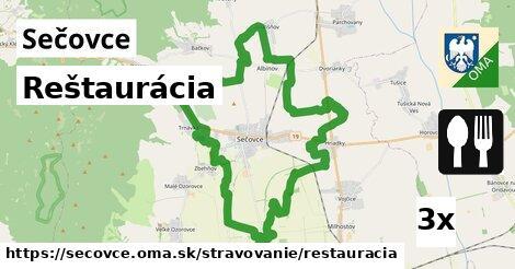 reštaurácia v Sečovce