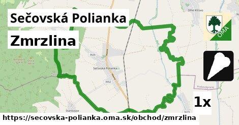 zmrzlina v Sečovská Polianka