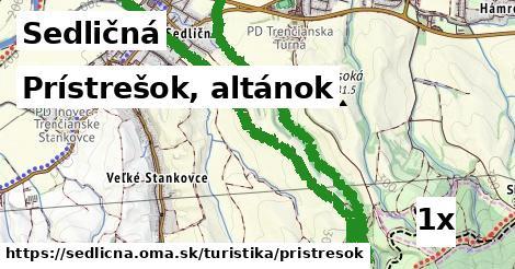 ilustračný obrázok k Prístrešok, altánok, Sedličná