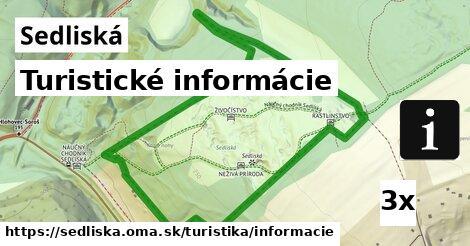 ilustračný obrázok k Turistické informácie, Sedliská