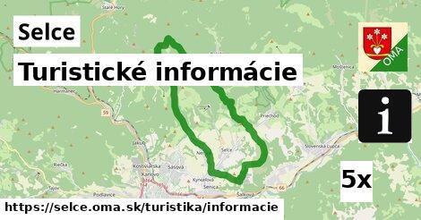 turistické informácie v Selce