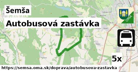 ilustračný obrázok k Autobusová zastávka, Šemša