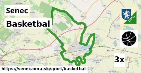 basketbal v Senec