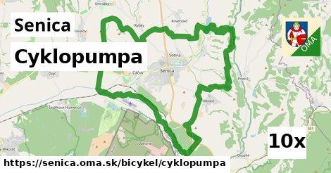 Cyklopumpa, Senica