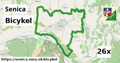 bicykel v Senica