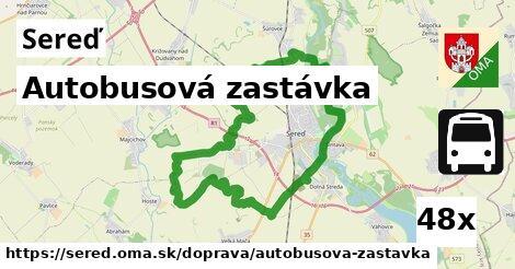 ilustračný obrázok k Autobusová zastávka, Sereď