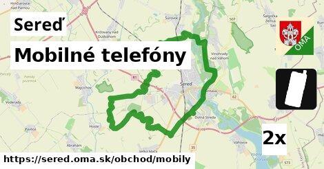 mobilné telefóny v Sereď