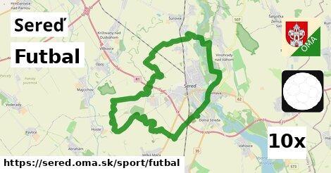 ilustračný obrázok k Futbal, Sereď