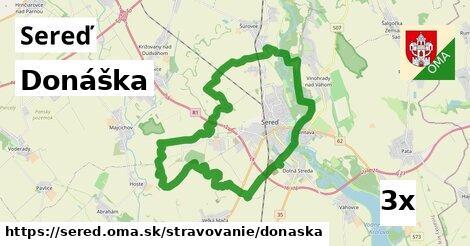 ilustračný obrázok k Donáška, Sereď