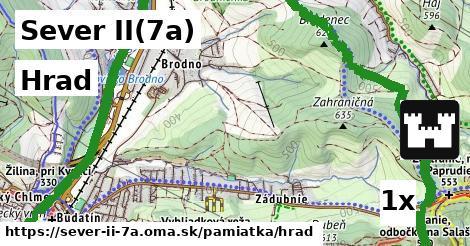 ilustračný obrázok k Hrad, Sever II(7a)