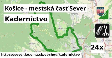 kaderníctvo v Košice - mestská časť Sever
