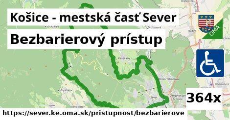 ilustračný obrázok k Bezbarierový prístup, Košice - mestská časť Sever