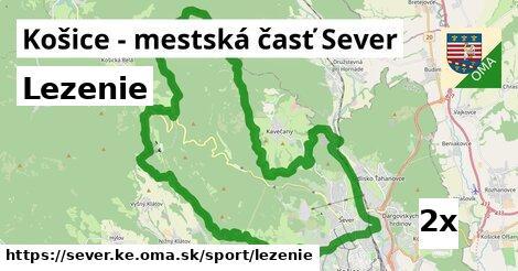 lezenie v Košice - mestská časť Sever