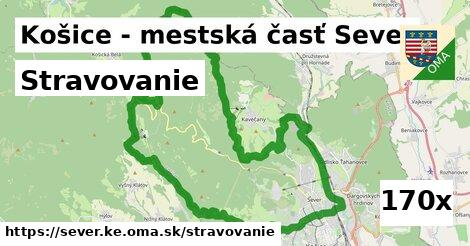 stravovanie v Košice - mestská časť Sever
